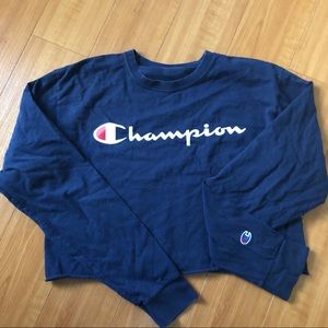 Champion Tops - Champion cropped long sleeve